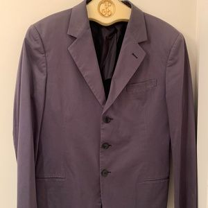 Giorgio Armani Cotton stretch blazer jacket
